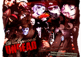 Hollywood Undead by stained-glass-hearts