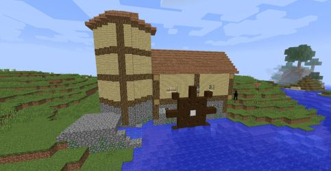 water powered mill by ColtCoyote