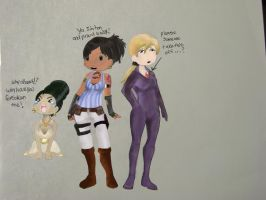 resident evil 5 girls by allanimerules1