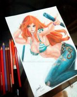 Nami - One piece by jorskie16