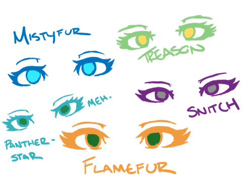 Female Eyes- Reference by Fluffahluff