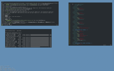 Openbox - Archlinux by Nikkee