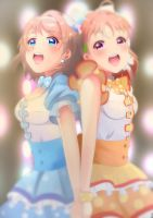 You and Chika by Cyphose