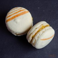 Macarons a la peche 2/2 by ClaraLG