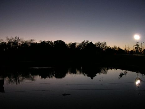 Pond at Sunset II by SunrunnerStock