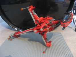 Lego Modified B-wing Fighter 3 by InDeepSchit