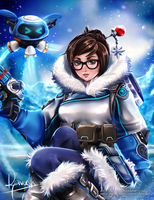 Mei - Overwatch by Reivash