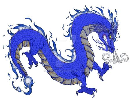 Chinese Storm Dragon Variant by RoTheKid