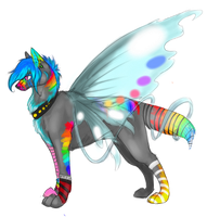 Sparkle Dog by Maxisamut