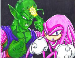 piccolo and hyper knuckles CL by trunks24