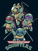 Squirtles by pilehh