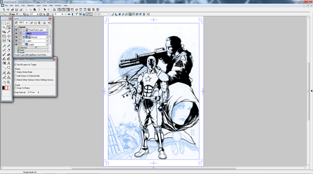 WIP Cover work for Advent Comics by dubbery