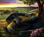 Dragons Paradise by Bluehasia