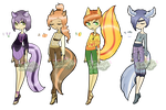 Scent Skunk Adoptables [CLOSED] by Kuejena