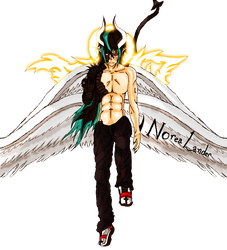 -The Perfect Levi- Complete Nephilim form. by NoreaLander