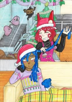 [Zanuelle] Merry Christmas by Mirmille