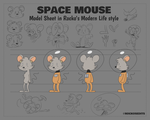 Space Mouse by LACardozaRojas
