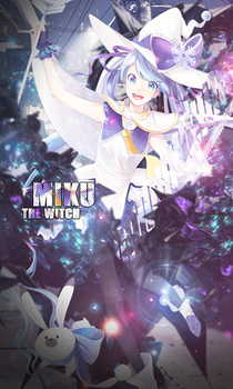 Miku The Witch by BlackHeartRaviles