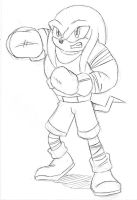 Request: Knux's Gonna Knock You Out! by Chauvels