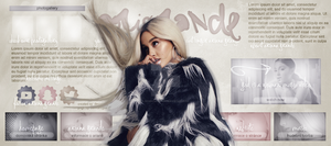 free header ft. Ariana Grande by designsbyroth