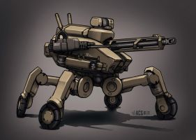 Contact - Combat Drone by Shimmering-Sword