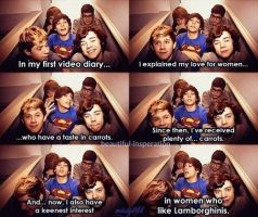 one direction and carrots... by misty141