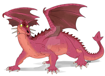 :Dragons: Dragoness by Clytemnon