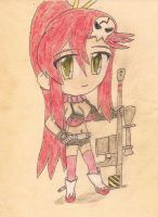 fan art: yoko litter by JofDragon