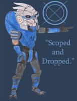 Garrus: Sniper of Awesome by BeCeejed