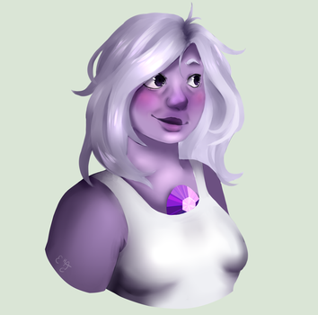 [Steven Universe] Amethyst by ettaEverything