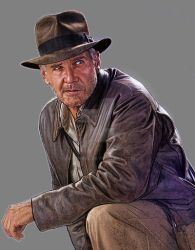 Crystal Skull Indy by jasonpal