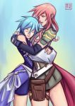 Commission - Aqua x Lightning by kawoninja