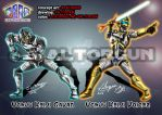 MetalHero Gavan et Voicer-Fanart Gavan by Valtorgun-le-Grand