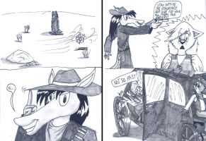 Furry Western part 2 by Levvvar