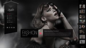 Angelicas PSD Photography Template by pixel-industry