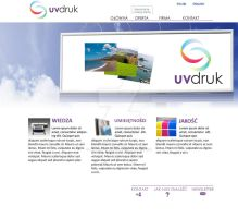 uv-druk site design by makaroniczos