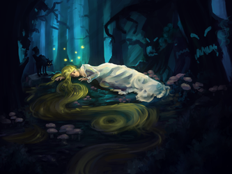 Sleeping Forest by Tobyfredson