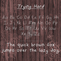 Trying Hard by PinkWoods