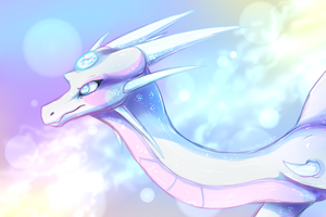 The Opal Dragoness by IcelectricSpyro