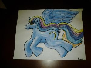 My Little Pony Custom Painting Ringlet-Based by Eternalskyy