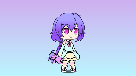 Plutia in Gacha Life (Remade) by kathleen156