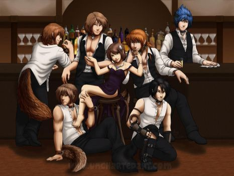 The Harem by algy