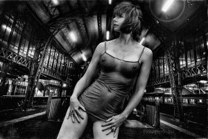 TRAINspotting BW by fionafoto