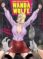 Detective Wanda Wolfe issue 7 cover by Coaxdreams