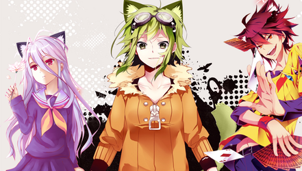 Pimp My Photoshop ! No Game No Life and Vocaloid by Kiuseii
