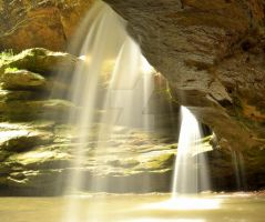 Old Mans Cave Falls 5 by HollowXichigO