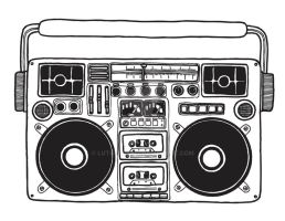 Boombox by luther1000