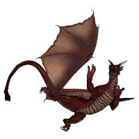 Dragon - Red 1 by markopolio-stock