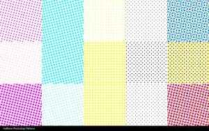 Photoshop Halftone Patterns by NinjaStefan