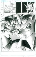Alternate Celestia and Luna from Reflections by andypriceart